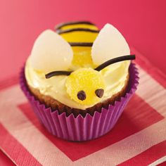 Classroom Treat Recipes from Taste of Home, including Bumblebee Banana Cupcakes Recipe