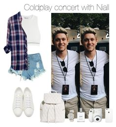 """Coldplay concert with Niall"" by chanelniall ❤ liked on Polyvore featuring T By Alexander Wang, WithChic, Anne Klein, Yves Saint Laurent, Rails, philosophy, Fujifilm and Vera Bradley"
