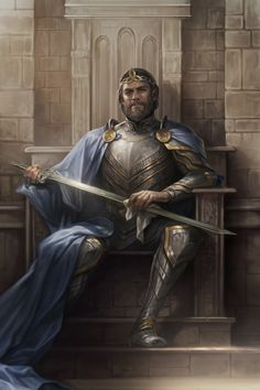 High King Emeric is a creature card in The Elder Scrolls: Legends. Acquisition High King Emeric can be soul summoned with soul gems or found in Core set packs. Fantasy Male, Fantasy Warrior, Fantasy Rpg, Medieval Fantasy, Fantasy Artwork, Dark Fantasy, Warrior King, Inspiration Drawing, Fantasy Inspiration