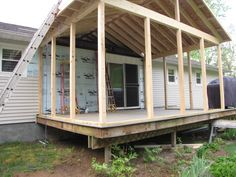 screened in deck - Google Search