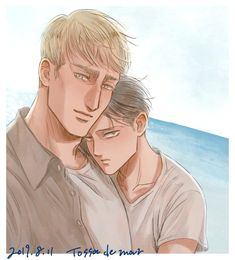 Erwin and Levi Aot Wallpaper, New Image Wallpaper, Levi And Erwin, Levi X Eren, Attack On Titan Ships, Attack On Titan Anime, Captain Levi, Eruri, Fanarts Anime