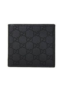 Wallets Black Nylon And Leather Men 260987  by Gucci