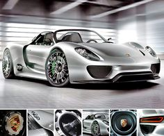 "WANT.    Porsche 918 Spyder Hybrid - ""An emission level of just 70 grams CO2 per kilometer on fuel consumption of three liters/100 kilometers (equal to 94 mpg imp)."
