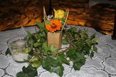 Rustikale Tischdeko für jeden Anlass im Vintagestil. Von Blumenstängel by Susanne Mangold