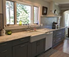 Kitchen Ideas No Wall Cabinets kitchen, no upper cabinets. sink in island. stove right behind it