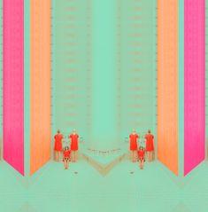 Andrea Koporova Minimalism, surrealart, geometric, perspektíve, colors Art Direction, Minimalism, Art Photography, Photoshop, Fine Art, Vintage, Gallery, Instagram, Colors
