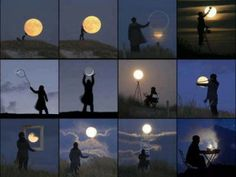 Volle maan, een goede locatie... en een té gekken inspiratie!