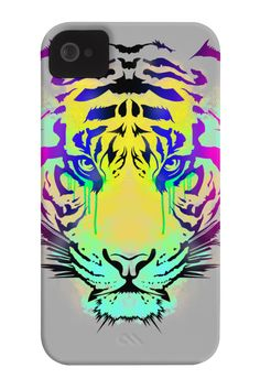 Tiger Look Phone Case for iPhone 4/4s,5/5s/5c, iPod Touch, Galaxy S4