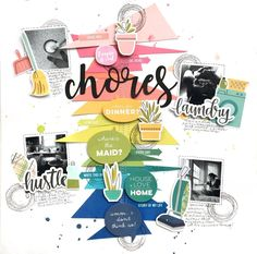 chores for CD by Audrey Yeager, by CDguestdesigner