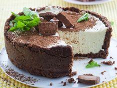 No-bake BarOne/MarsBar Cheesecake. See recipe: http://sharonsfeast.wordpress.com/2014/10/18/no-bake-bar-one-mars-bar-cheesecake/
