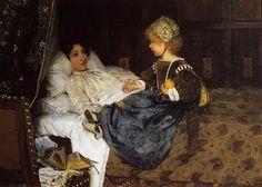 Lawrence Alma Tadema - Always Welcome, 1887