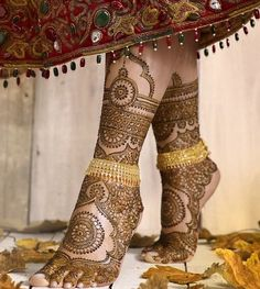 Intricate mehndi perfect for the bride of the moment by Lali Creations/Henna by…