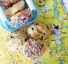 Blueberry, Coconut and Mango Yogurt Cookies... healthier than your average cookie... great to pack for family vacations. www.foodtasticmom.com