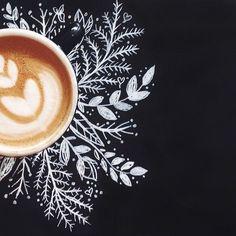 Coffee + Doodles.