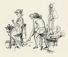 ronald searle illustrations - Google Search