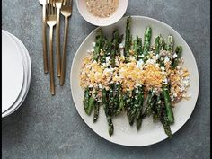 Easy side dish idea: Asparagus Mimosa