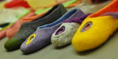 Felted shoes mini tutorial
