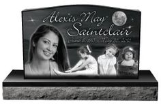 When laser engraving on granite, the surface of the polished stone is removed by the laser beam resulting in high quality artwork. High resolution photos can be etched with our high power laser and produce stunning results! Learn more at aplazer.com