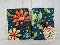 Flower meadow card holder by ManoFactured on Etsy
