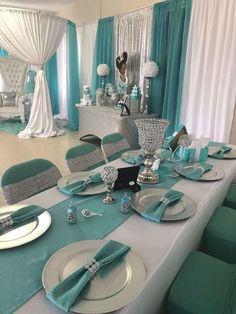 Baby & Co. Theme ( Tiffany & Co.) Baby Shower Party Ideas | Photo 4 of 14 | Catch My Party