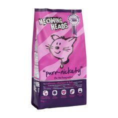 Meowing Heads -täysravinnot kissoille 1,5 kg.Sopii kaiken ikäisille kissoille eri elämänvaiheisiin. 250 g–6 kg 5,99–56,90 € (23,96–9,48 €/kg). Musti ja Mirri, E-taso