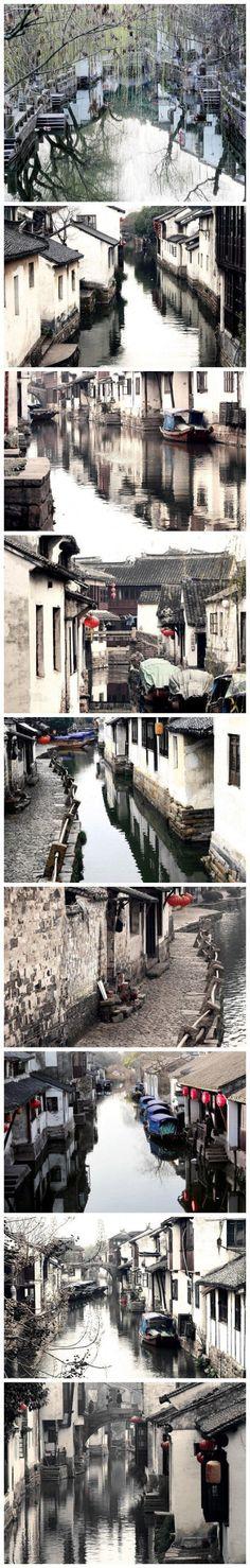 水墨江南,小桥,流水,人家,流溢在水墨江南里,看不明虚实,分不清究竟;水性的流淌中,滋润了多少文人豪杰的心胸。品读江南,凌波水韵,翰墨流芳···感受中国文化精髓,