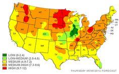 AANMA Maps The Status Of State Epinephrine Legislation Allergies - Allergy in us map