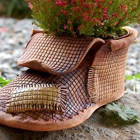 We thought you might be interested in Products seller lavender / goods Ceramic Shoes, Ceramic Art, Ceramics Projects, Clay Projects, Clay Crafts For Kids, Pottery Pots, Garden Types, Ceramic Animals, Yarn Bowl