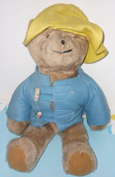 On offer is a hard to find plush, musical Paddington Bear made by Eden Co. / Ganz Bros.  This is an authentic Paddington Bear made  in the 1970's.