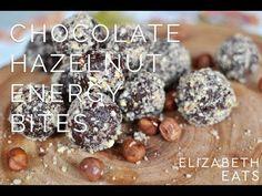 Healthy Chocolate Hazelnut Energy Bites | Elizabeth Rider