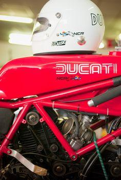 One of 20 NCR built TT racers