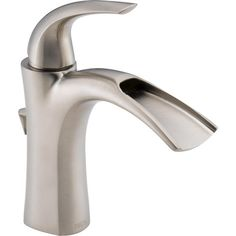 Delta nyla stainless 1 handle vessel watersense bathroom faucet drain - Pinterest The World S Catalog Of Ideas