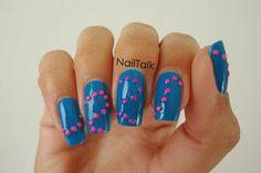 Een dotted nail-art door Nailtalk
