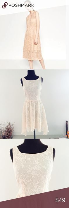 ❗️Zara Blush Lace Dress MSRP $80 ❗️Zara Blush Lace Dress. Retails $80. Size small. In excellent condition! Feel free to make an offer! I'm giving to the first reasonable offer I receive & give great bundle deals! Spring cleanout sale--all must go! ;-) Zara Dresses