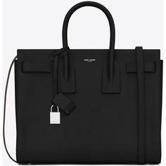 Saint Laurent Classic Small Sac De Jour Bag In Black Grained Leather  ( 2 8cc56378b8ff4