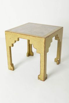 Simple side table with great legs!