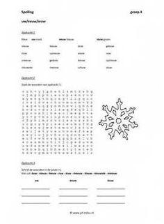 Dit werkblad en nog veel meer in de categorie spelling - uw - eeuw - ieuw kun je downloaden op de website van Juf Milou.