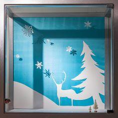 Holiday Themed Windows, Visual Merchandising Arts. School of Fashion at Seneca College.