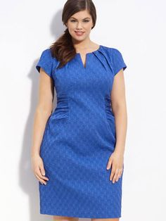 Great gown style. Stylish Classic Plus Size Clothing - Fashionable Plus Size Clothing for Women - Redbook