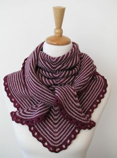 WIRRA SHAWL knitting pattern PDF instant download por AMBAH en Etsy