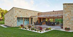 12 casas de piedra fantásticas (que vas a querer para tí)