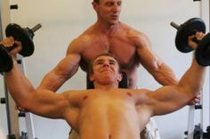 We're just manly men. Who love to do manly things.With other manly men. Best Bodybuilding Program, Best Bodybuilding Supplements, Natural Bodybuilding, Fat Burning Supplements, Natural Testosterone, Gym Lockers, Fitness Activities, Muscle Mass, Thighs