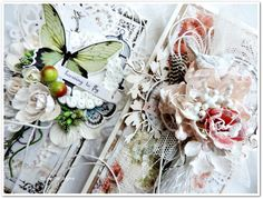 Shabby cards - project made by Elena Tretiakova for More Than Words  http://elena-3cards.blogspot.ru