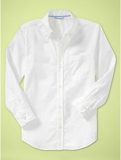 Textured white shirt | Gap