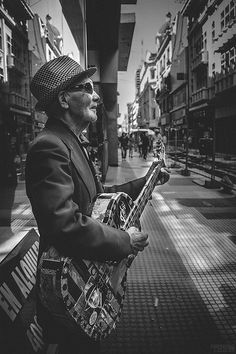 Street Music In Buenos Aires