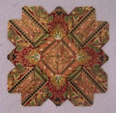 Patchwork of the Crosses Quilt Block