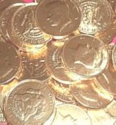 Chocolate Coins - Who doesn't like these?