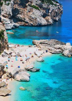 Cala Mariolu, Sardinia, Italy … Uh huh.