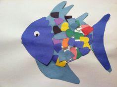 Rainbow Fish Craft - iluvem