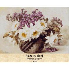 Model goblen Vaza cu flori http://set-goblen.ro/flori/3451-vaza-cu-flori.html